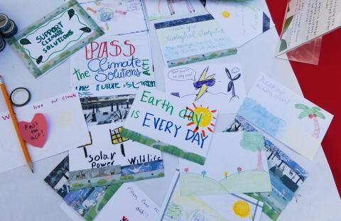 2019 Earth Day, Postcard Activism, River of Words