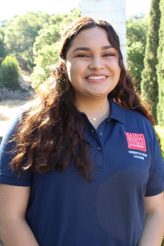 Hey Gaels! My name is Rachel Carrillo and I'm a junior kinesiology major from San Diego. I am involved in the Mission and Ministry center, Intervarsity Christian Fellowship club, Gael Sisterhood, and the compassion club here on campus. I can't wait to welcome the class of 2025!