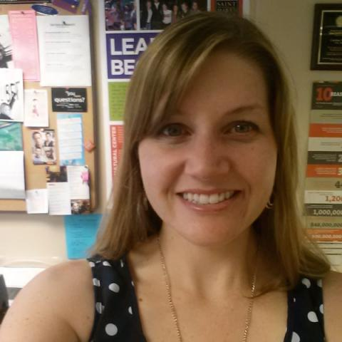 """""""I really enjoy showing my residents all of the fun things to do and ways to get involved."""" --Gillian Cutshaw, R.D., Mitty Hall"""