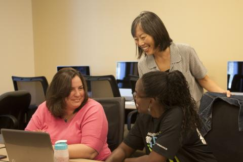 """[Dr.] Suzuki is an excellent instructor. She makes quantitative data analysis palatable and easier to understand."" Lisa Allphin, Ed.D. student."