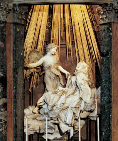 When was the ecstasy of st teresa made