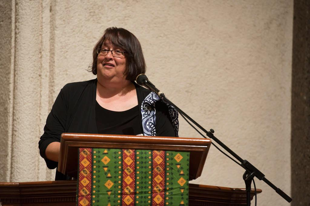 St. Columba choir member Susan Wiley offers a historical narrative on the emergence of Catholic Gospel music.