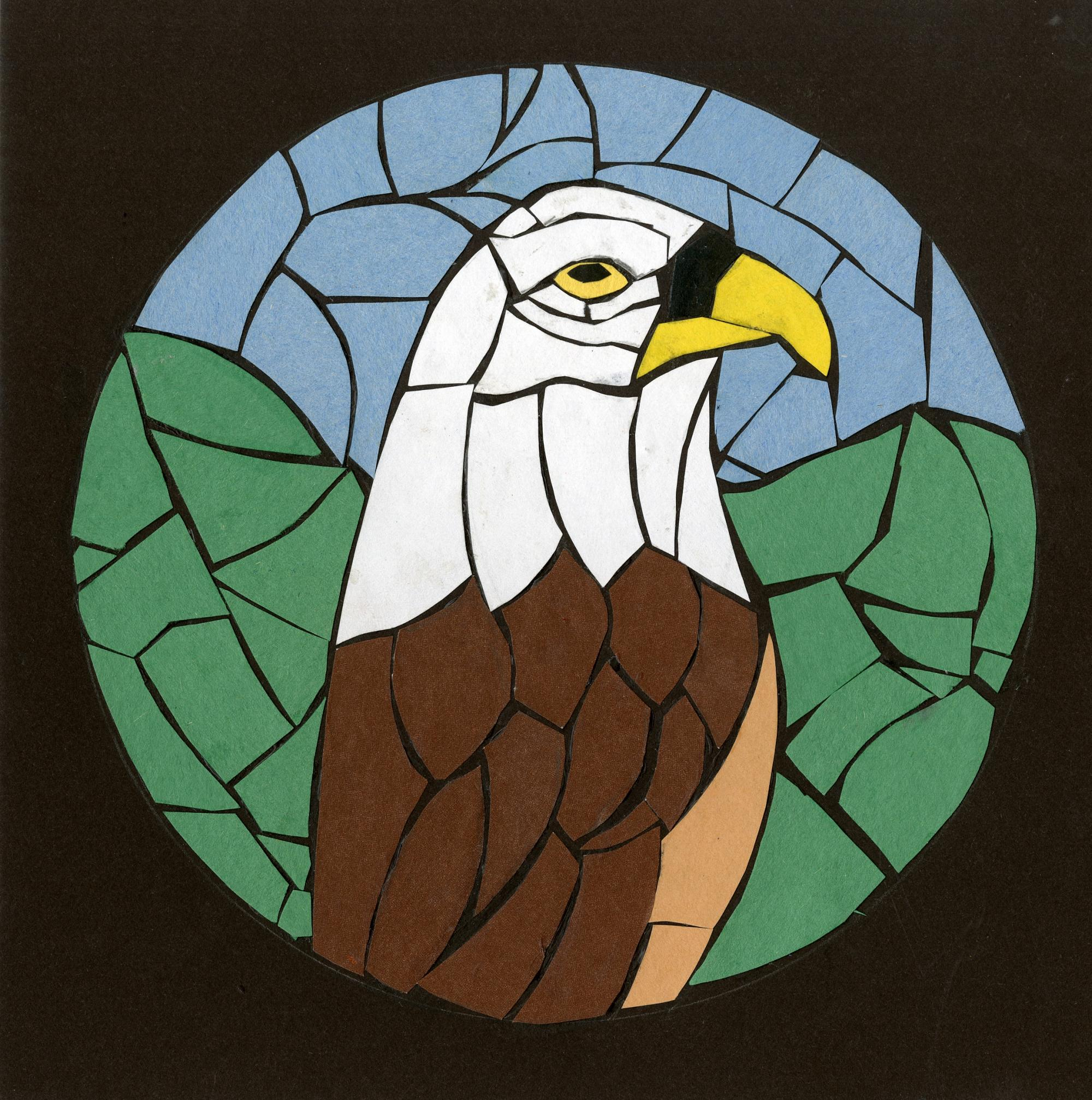 """Eagle"" by James Jay (14), Meridianville, AL (c) 2014 River of Words"