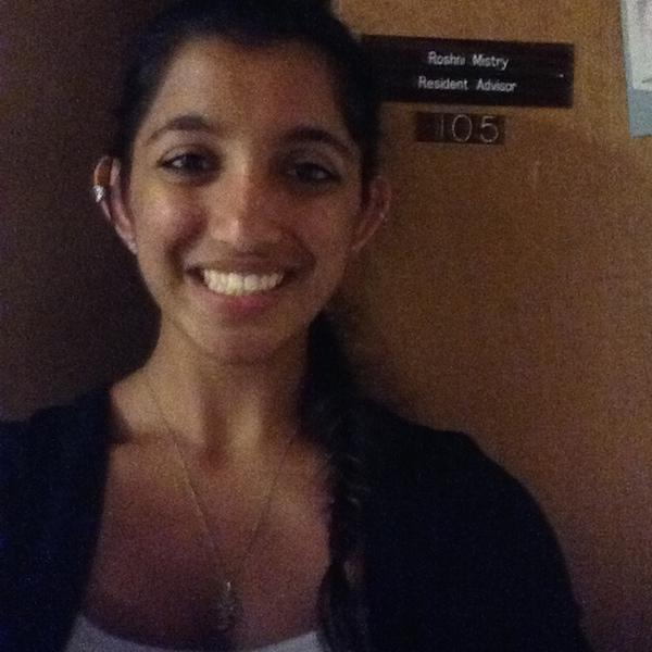"""I am excited for this coming year because I can't wait to get to know everyone and create an inclusive Ageno B family that will last for years to come!"" -- Roshni Mistry, R.A., Ageno"