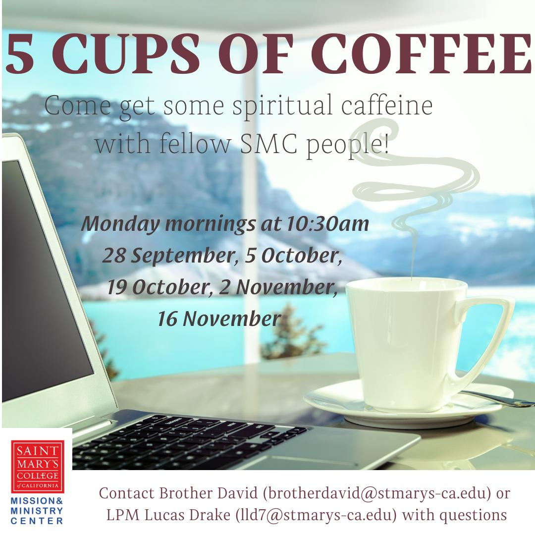 5 Cups of Coffee Faith Sharing thumbnail image