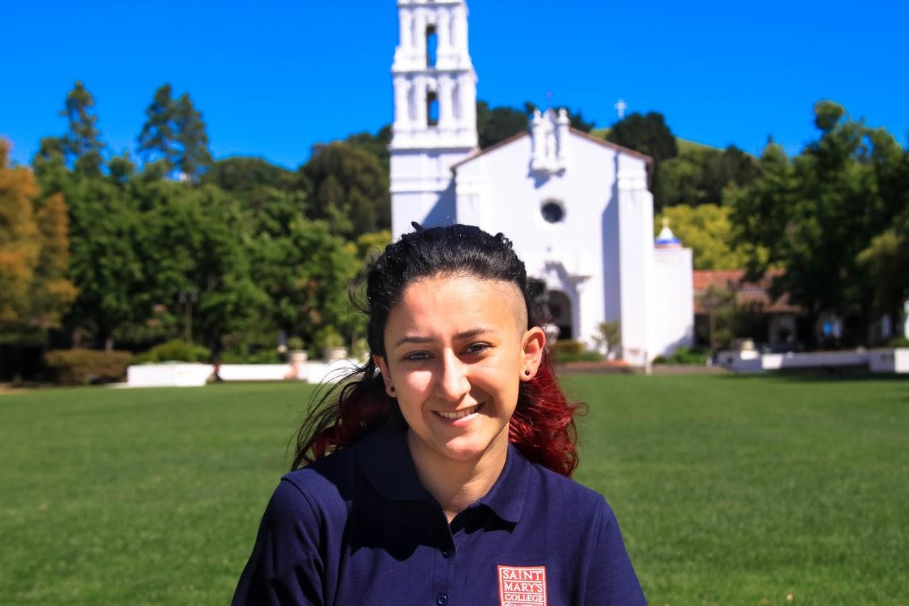 I'm Alejandra Rivas, a junior from West Covina, CA. I am studying Theatre Performance Studies and Psychology. I am involved in various places on campus and I cannot wait to share my wonderful experiences at Saint Mary's with the incoming Gaels.