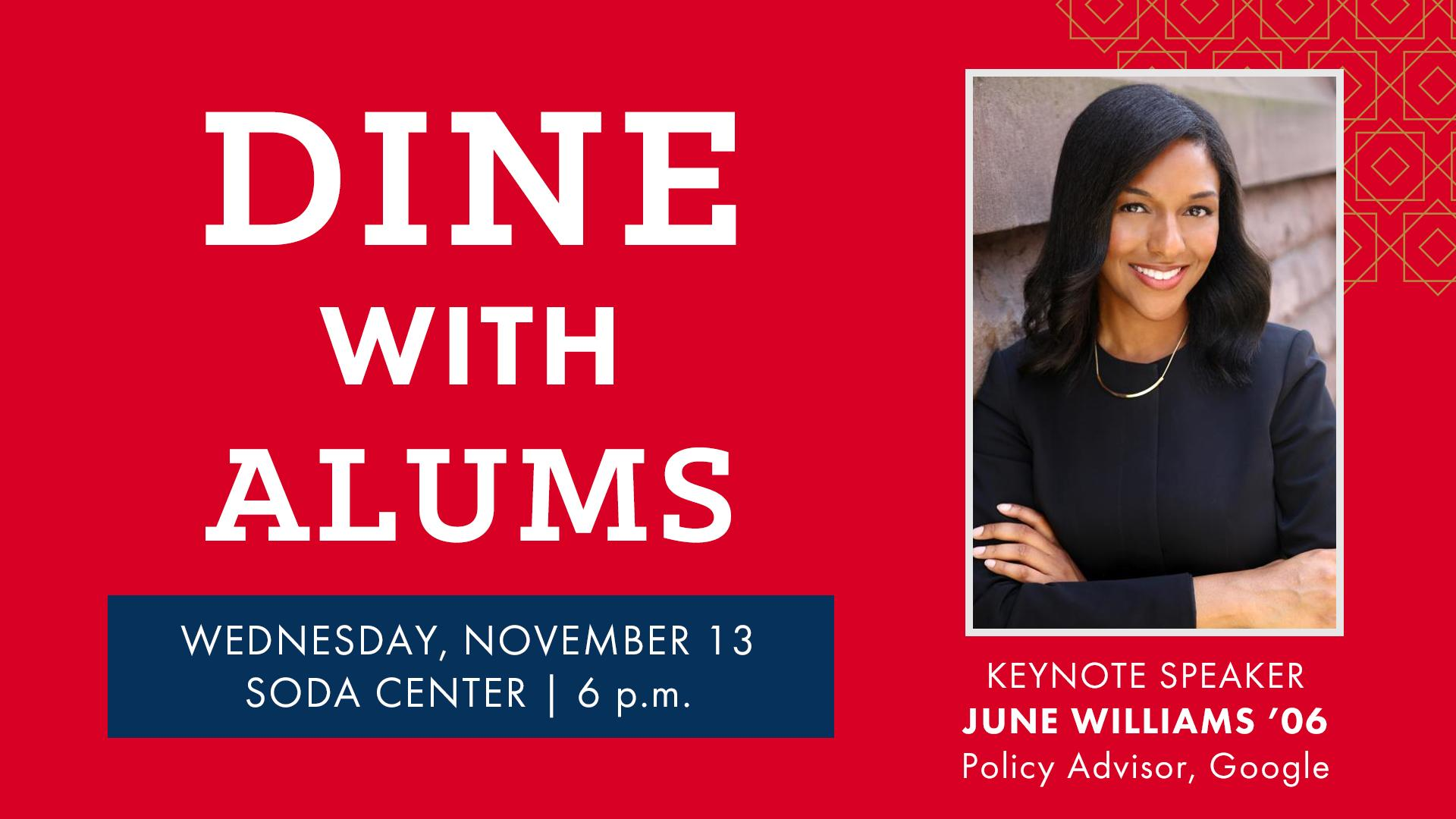 Dine with Alums