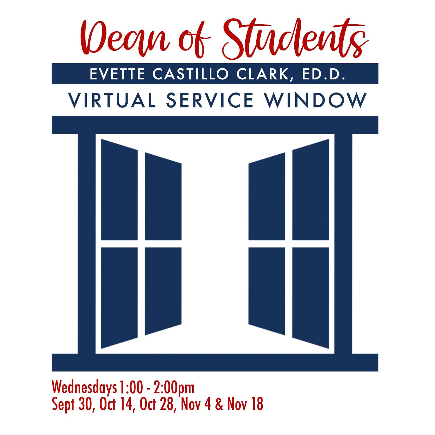 Dean of Student Virtual Window