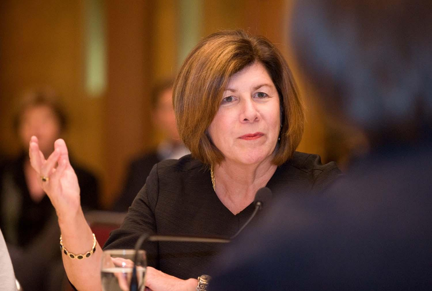University of San Diego President Mary Lyons offered many thoughtful insights from her experience as a leader of both secular and Catholic colleges.
