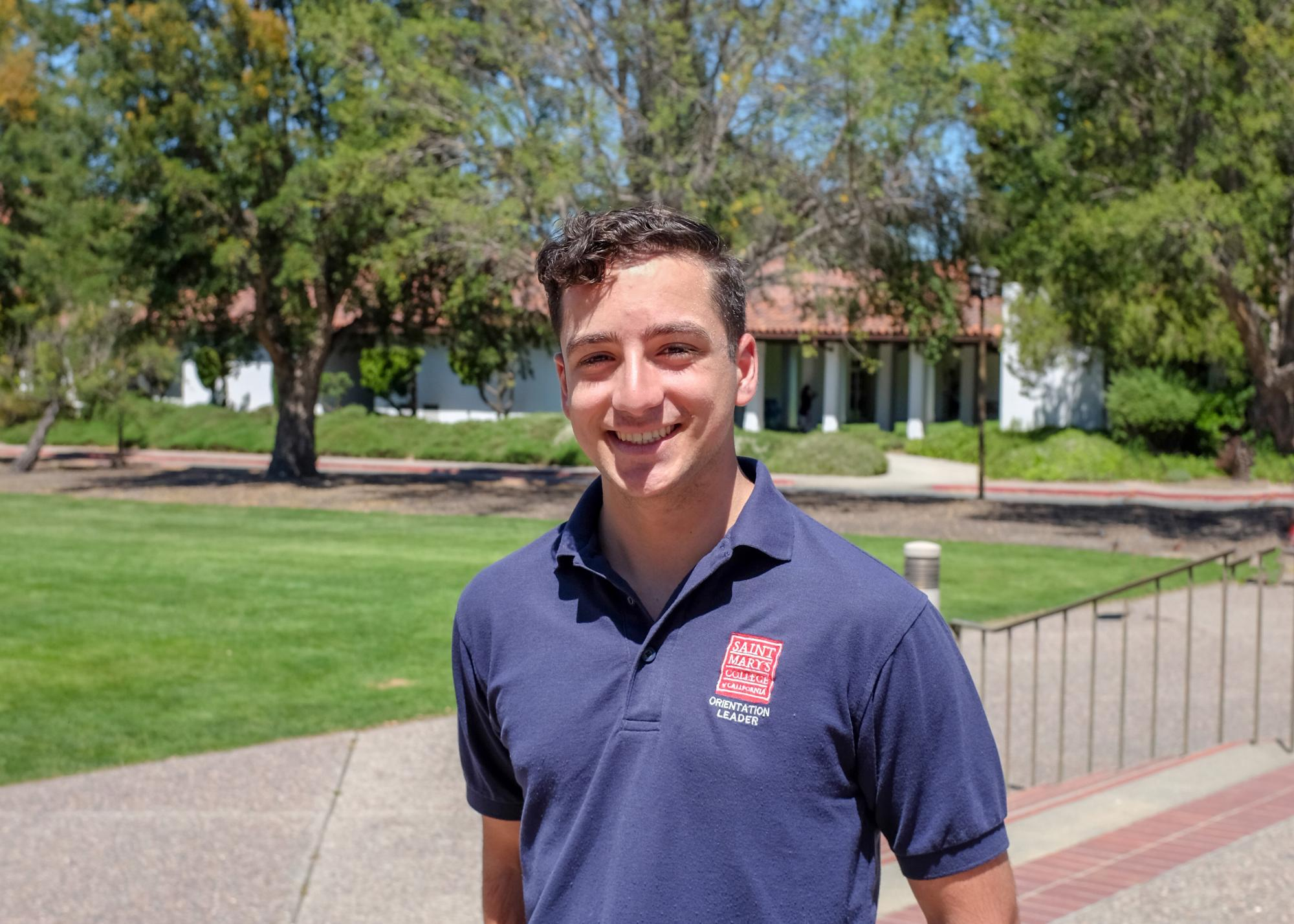 Hey, I'm Geoffrey Khoury. I am a biochemistry major and the fourth in my family to attend this amazing campus. I'm full of energy and I can't wait to energize the incoming first years.