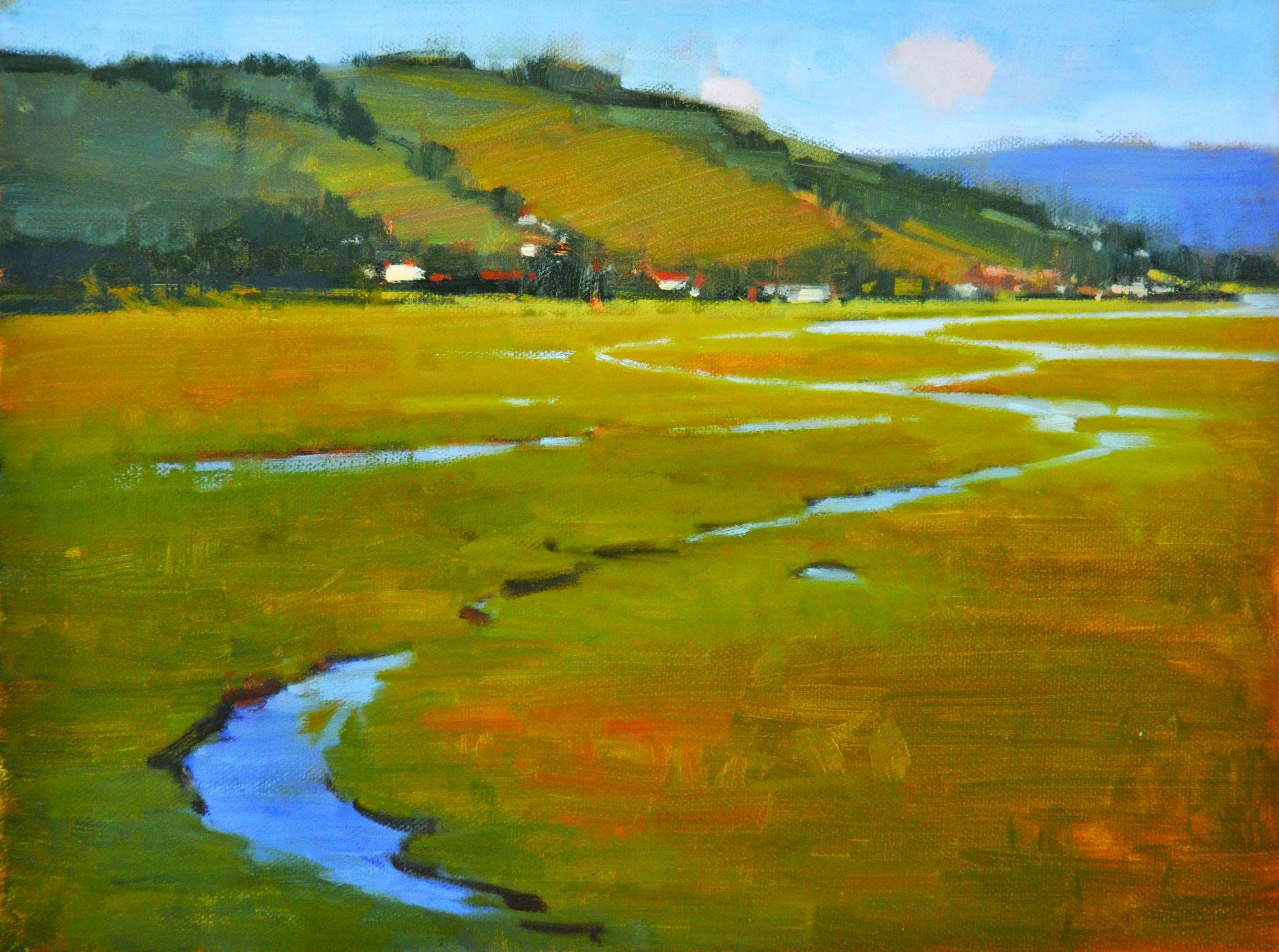 Carolyn Hesse-Low, Waterways, oil