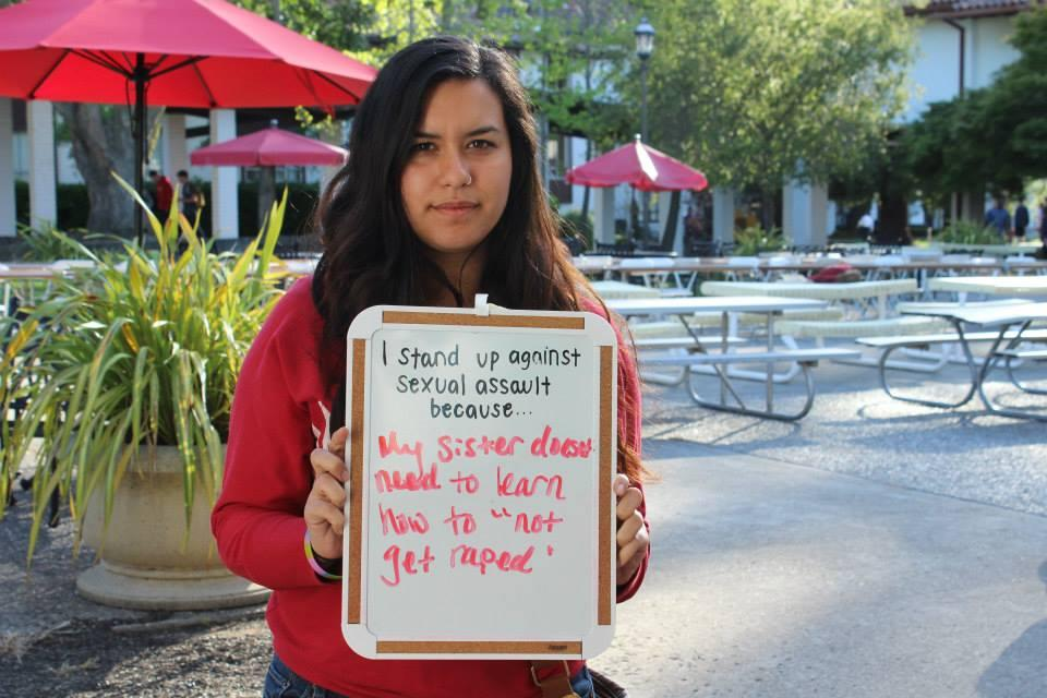 I Stand Up Against Sexual Assault Because...