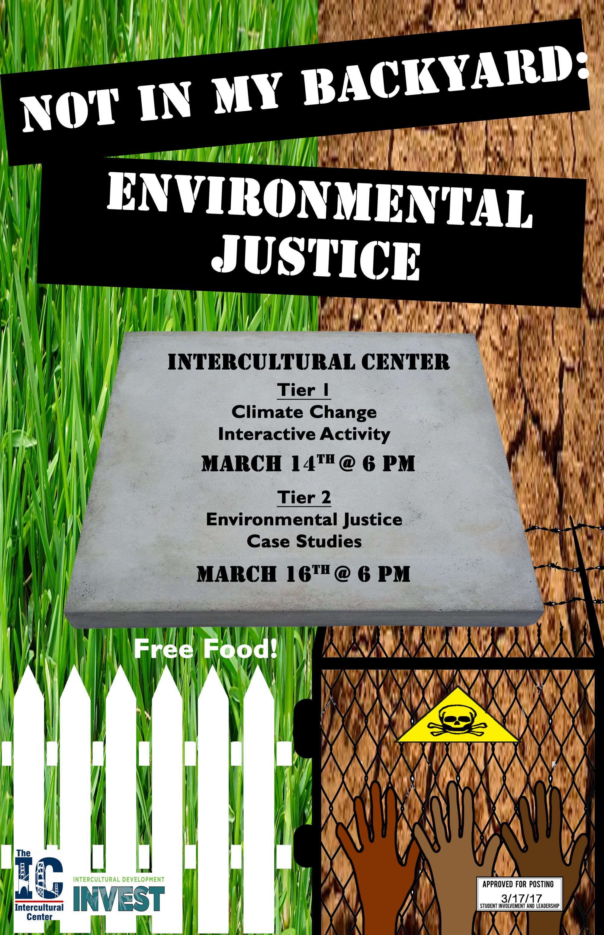 INVEST: Not in My Backyard: Environmental Justice Tier 1 ...