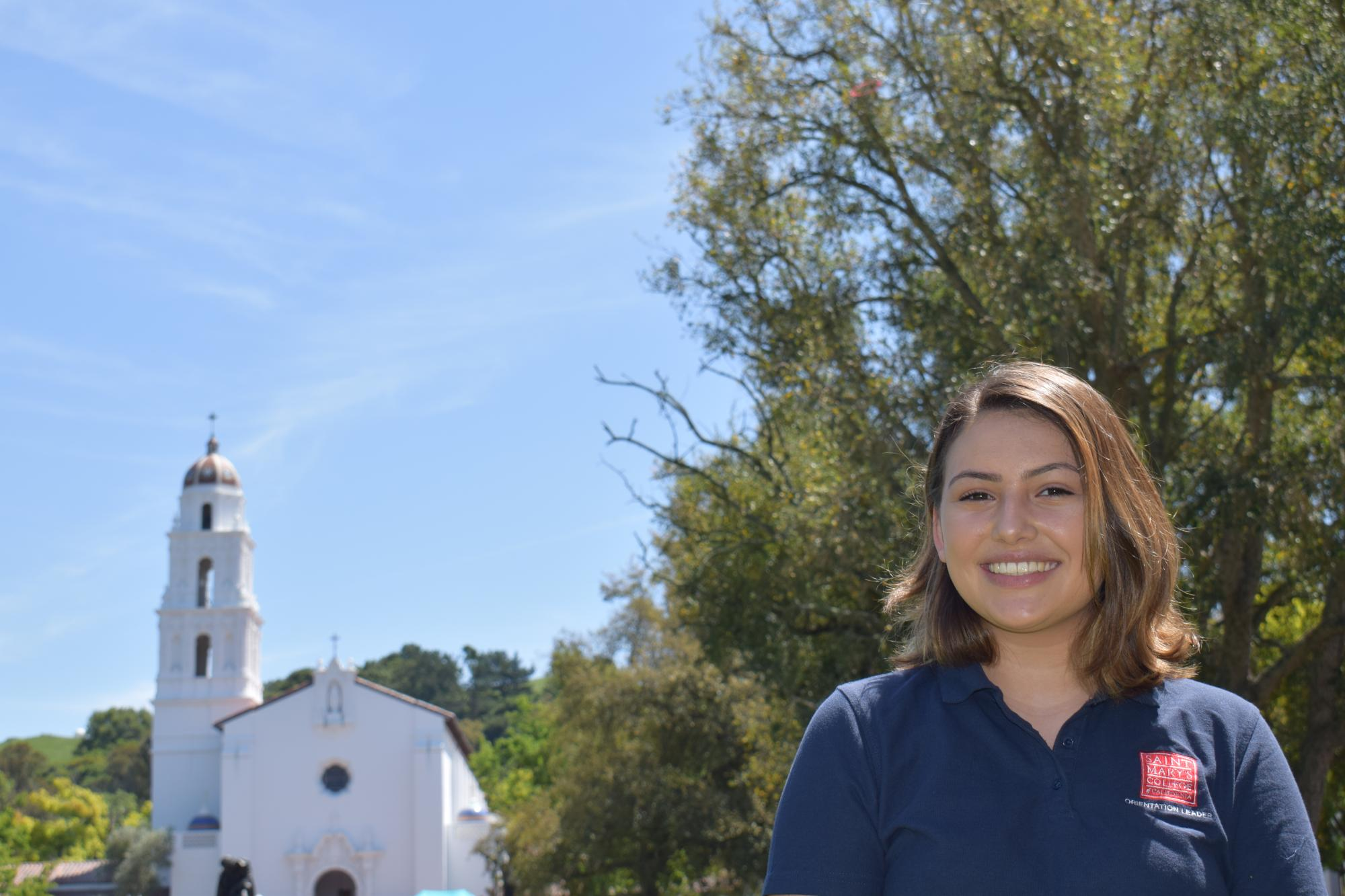 Hey, my name is Kristina and I am from Hayward, CA! I am a JCL, TFT major, involved with SMC Las Hermanas. I am so looking forward to meeting all of you!