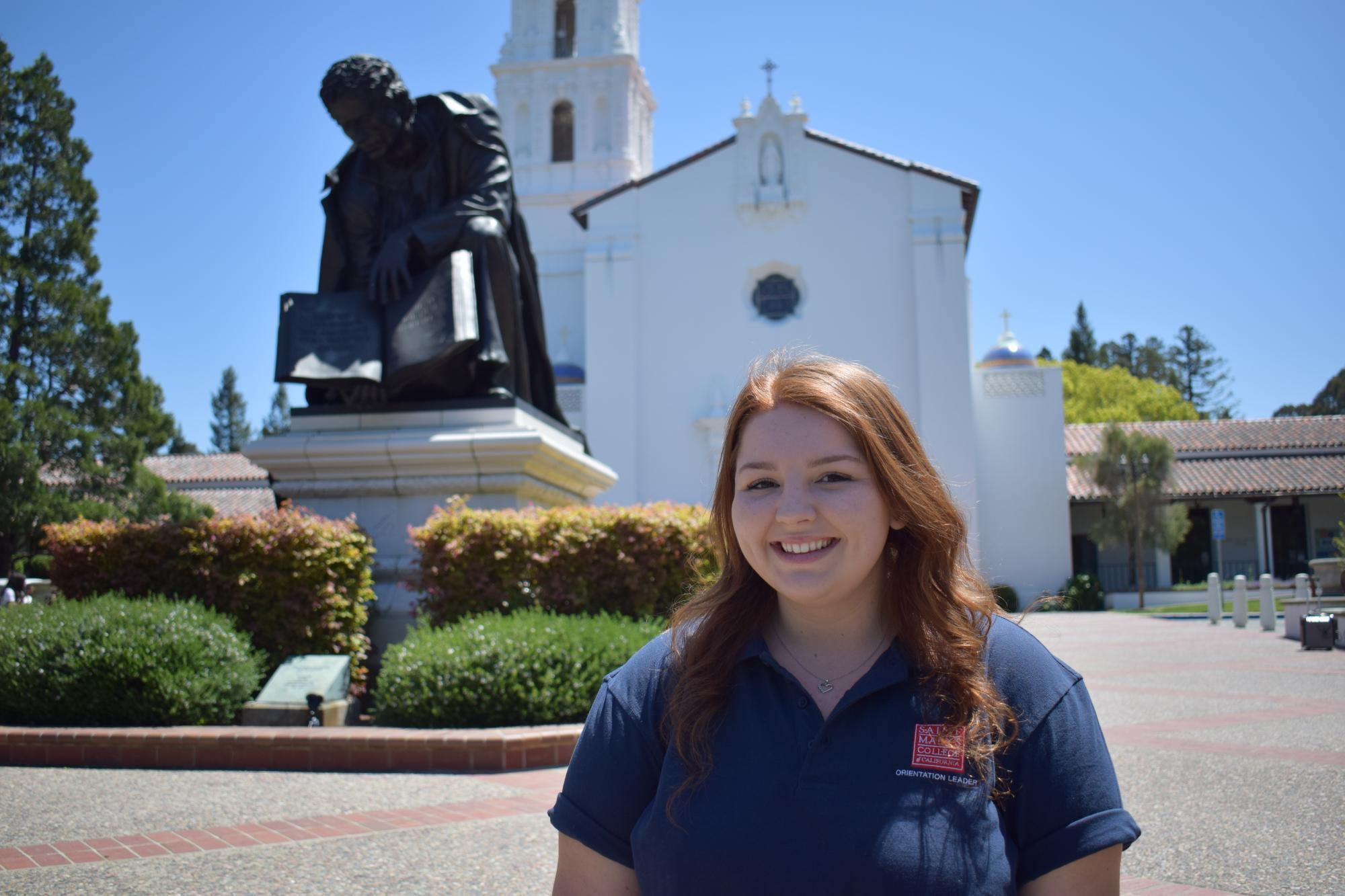 Hey! I'm Laura Hazen from Ceres, CA. I am studying accounting with a Theology and religious studies minor. I work for the Mission and Ministry Center and am also a part of the Residence Hall Association and the Portuguese Club. Can't wait to see you all on campus!