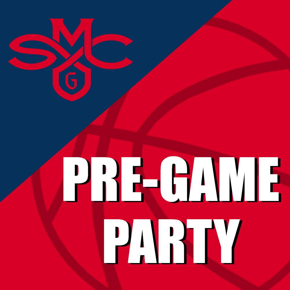Join us for a pre-game party before we cheer on our men's basketball team!