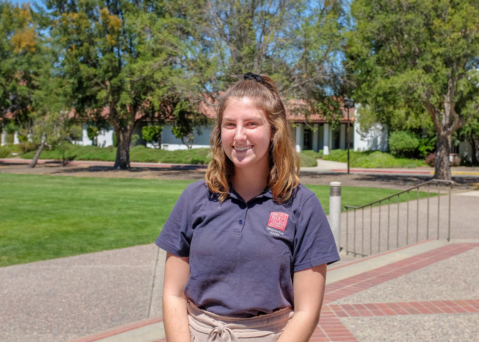 What's up! My name is Natalie Zander and I'm an English major/Psych minor from Redlands CA! In addition to being an Orientation Leader, I'm also a student ambassador! Can't wait to meet y'all, Peace and Love!