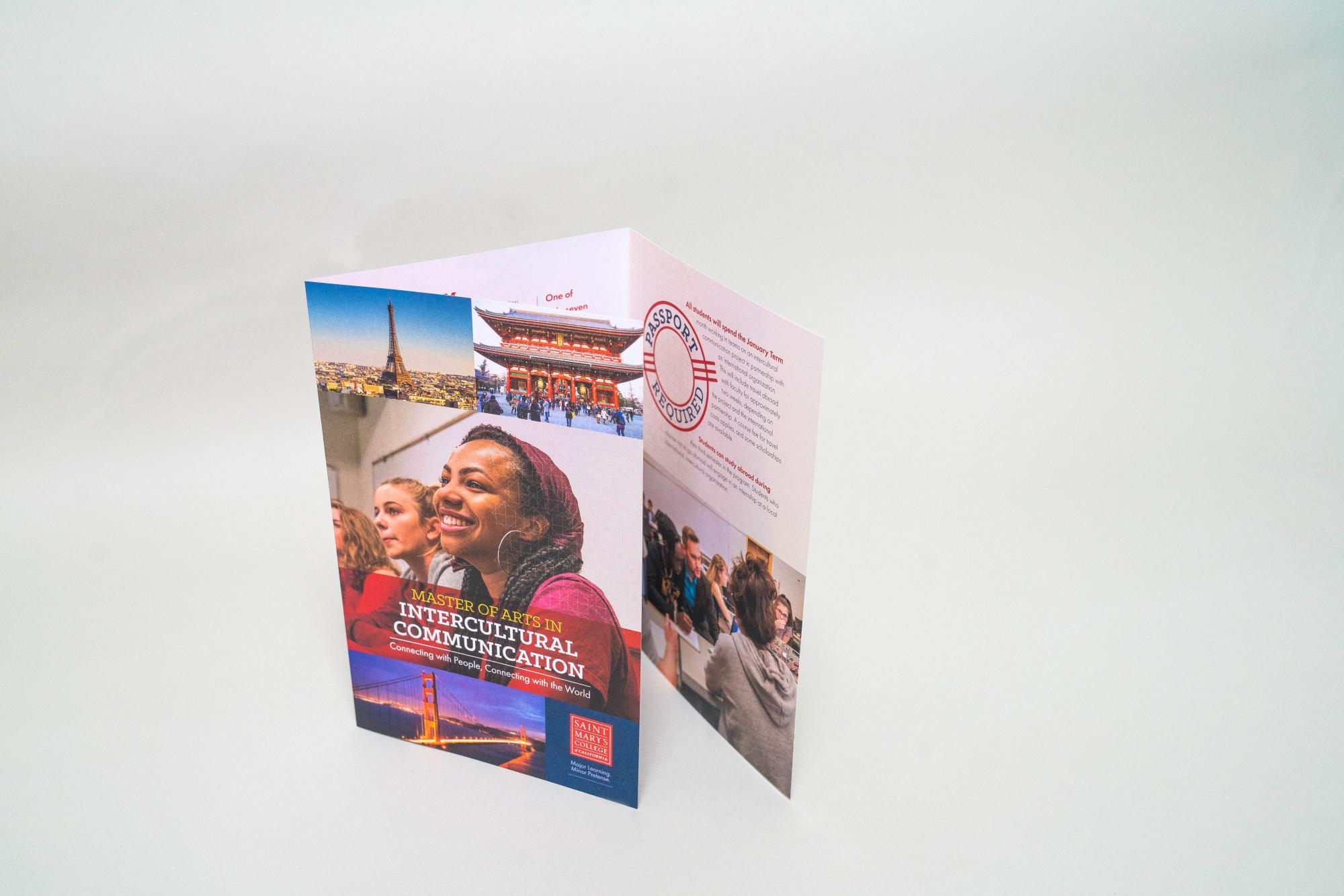 Examples of work produced by College Communications