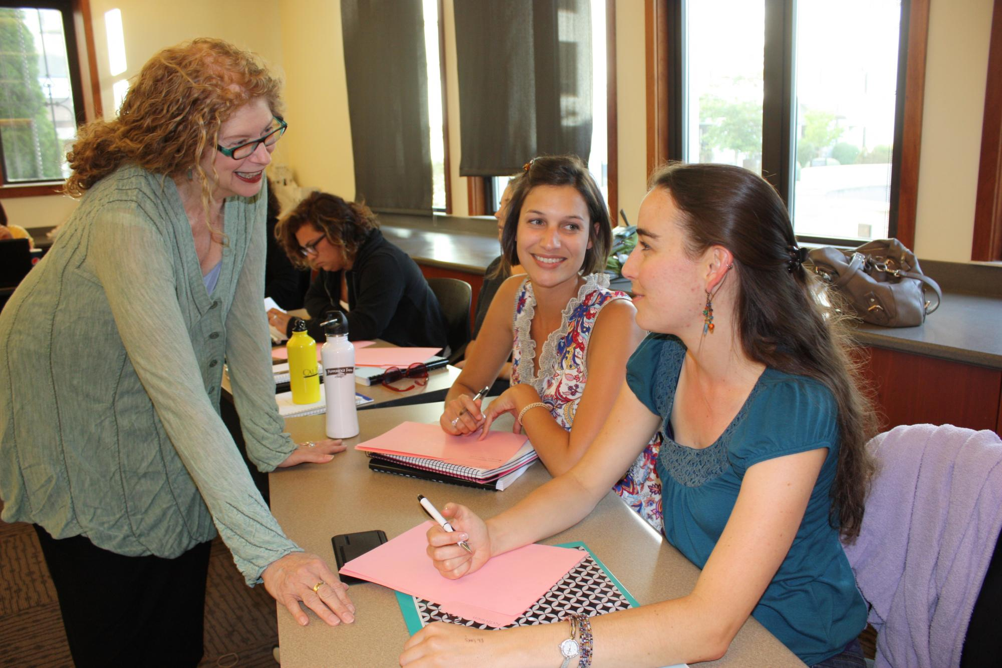 """""""[Prof. Chambers] is ... engaging and open-minded ... . She ... invites us to think creatively and critically about the material and our lives as educators."""" Sara Adams, MONT/ECE student."""