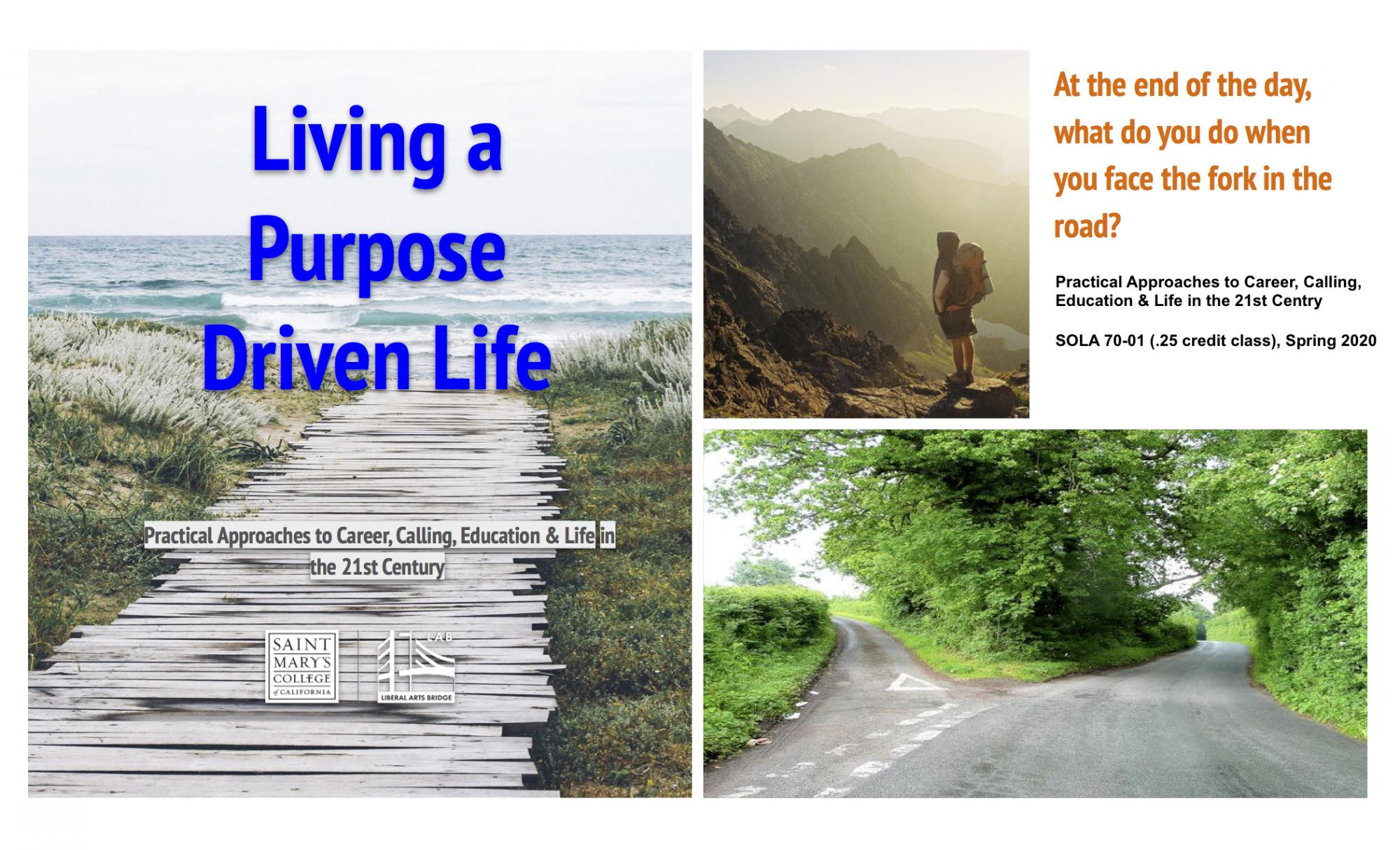 Purpose Driven Life Class Flyer