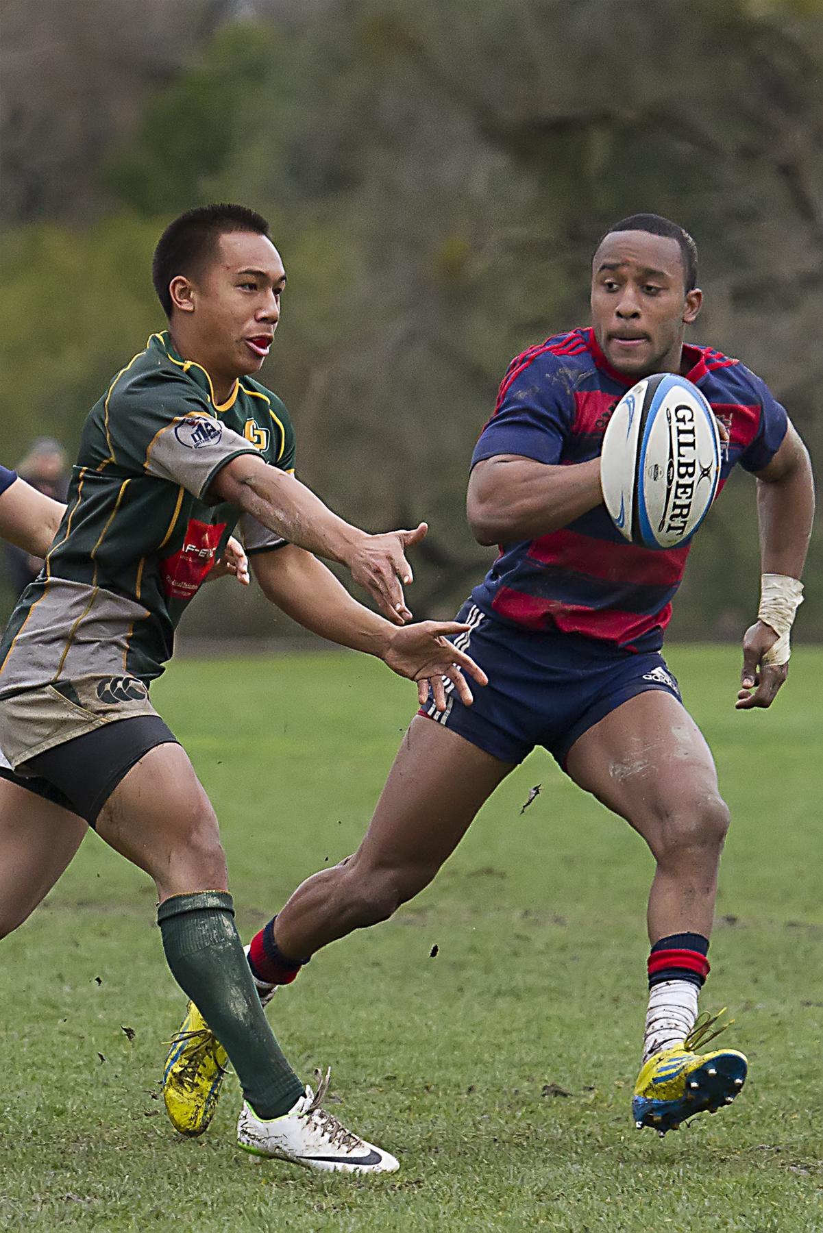 Men's Rugby vs. Cal Poly. March 1, 2014