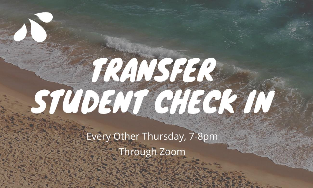 Transfer Student Check In