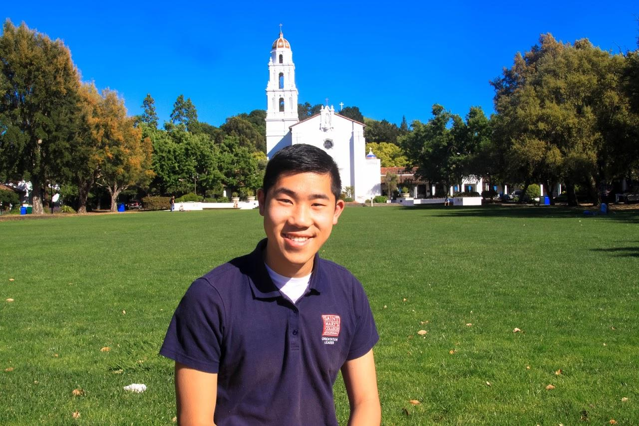 My name is William and I am a sophomore from the golden city of San Francisco, CA. I am studying Business Administration with a concentration in Marketing, and I can't wait to create new adventures with the new class of Gaels.