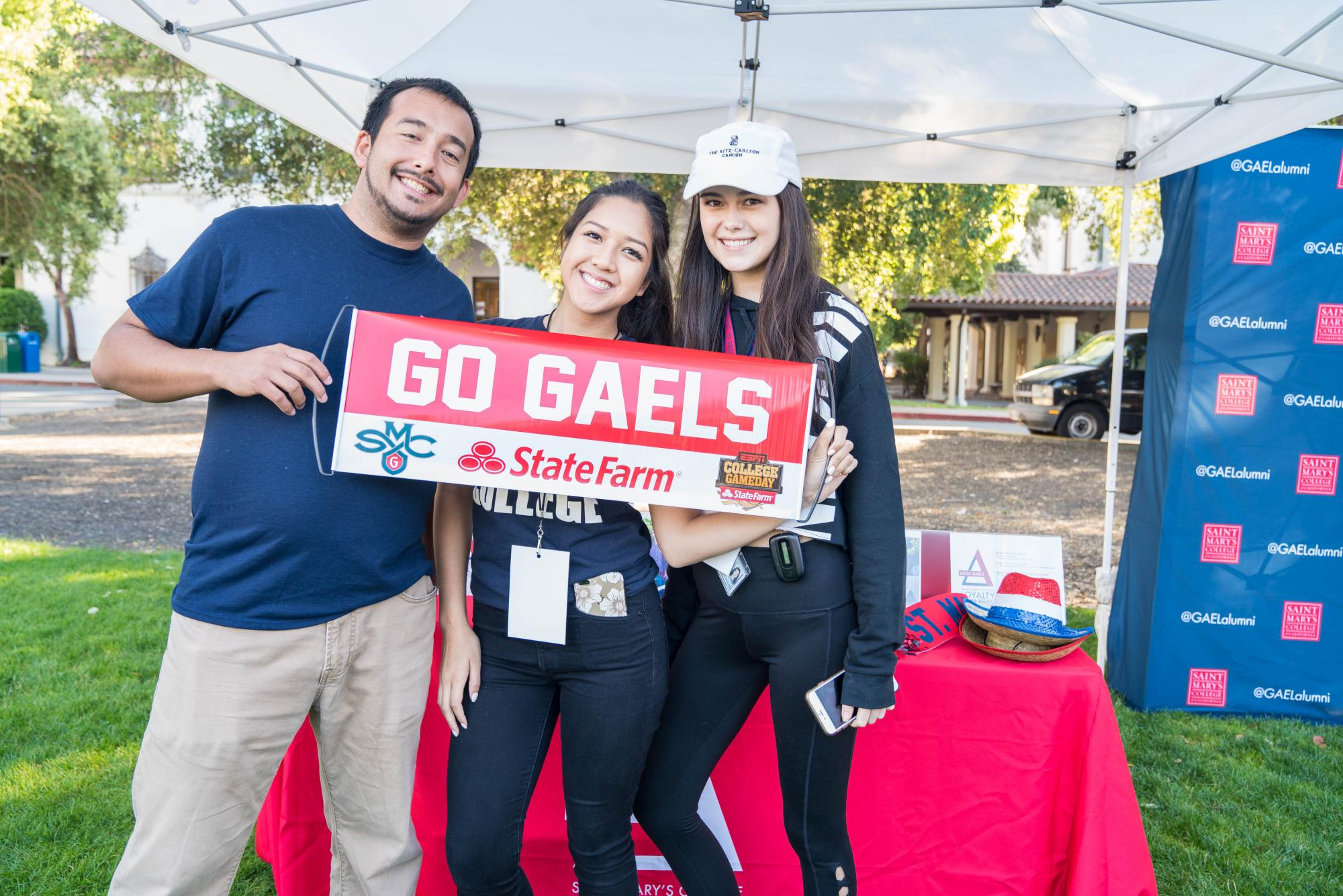 Scenes from the Welcome Mass and Farewell BBQ during Weekend of Welcome on August 24, 2017.