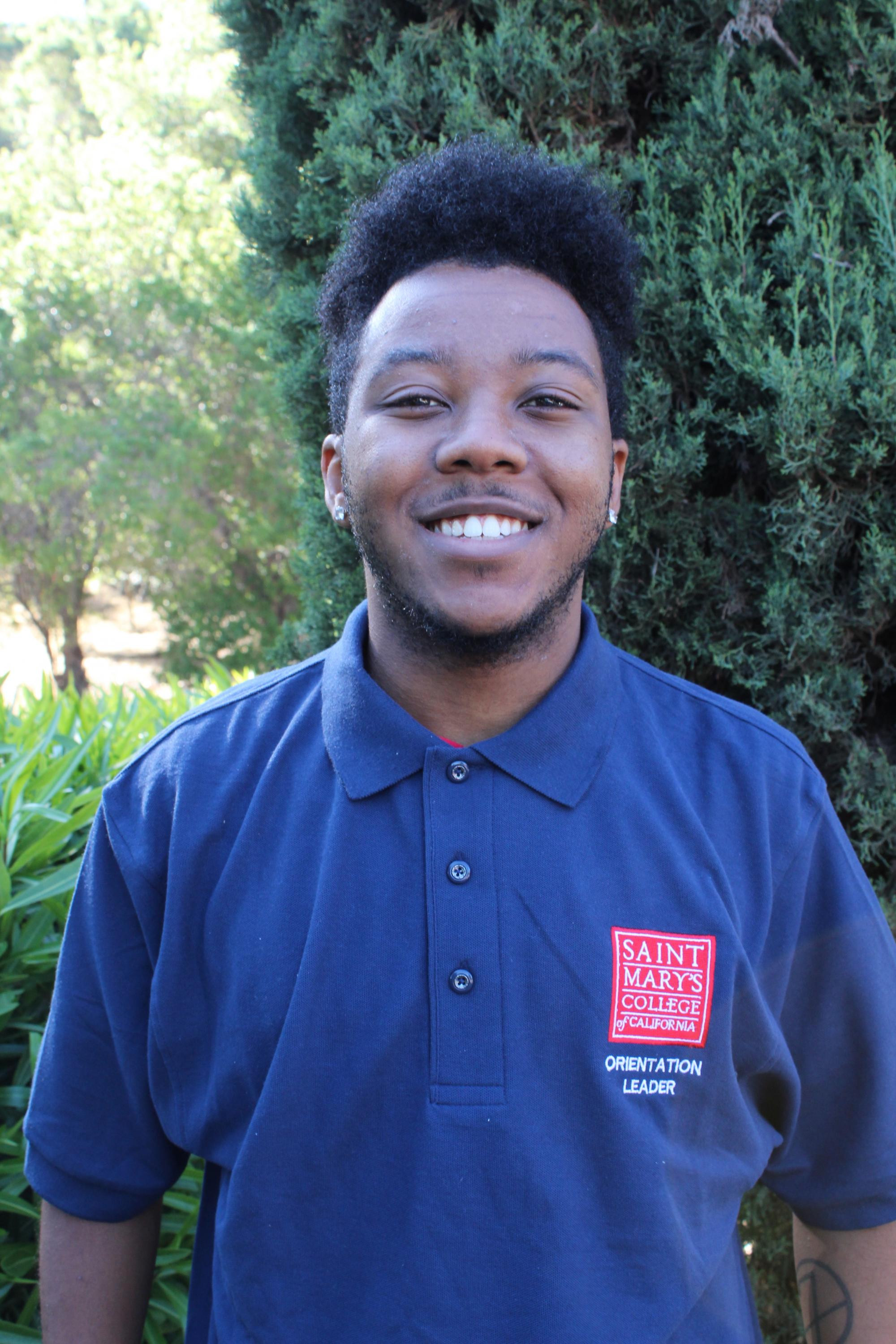 What's up everyone! My name is Collin Fisher and my hometown is San Ramon, California. I am a third year junior doing a split major of Ethnic Studies and Counseling Psychology with a minor in Dance. I'm involved in the Black Student Union here on campus. Looking forward to meeting you all and congratulations on becoming a Gael!