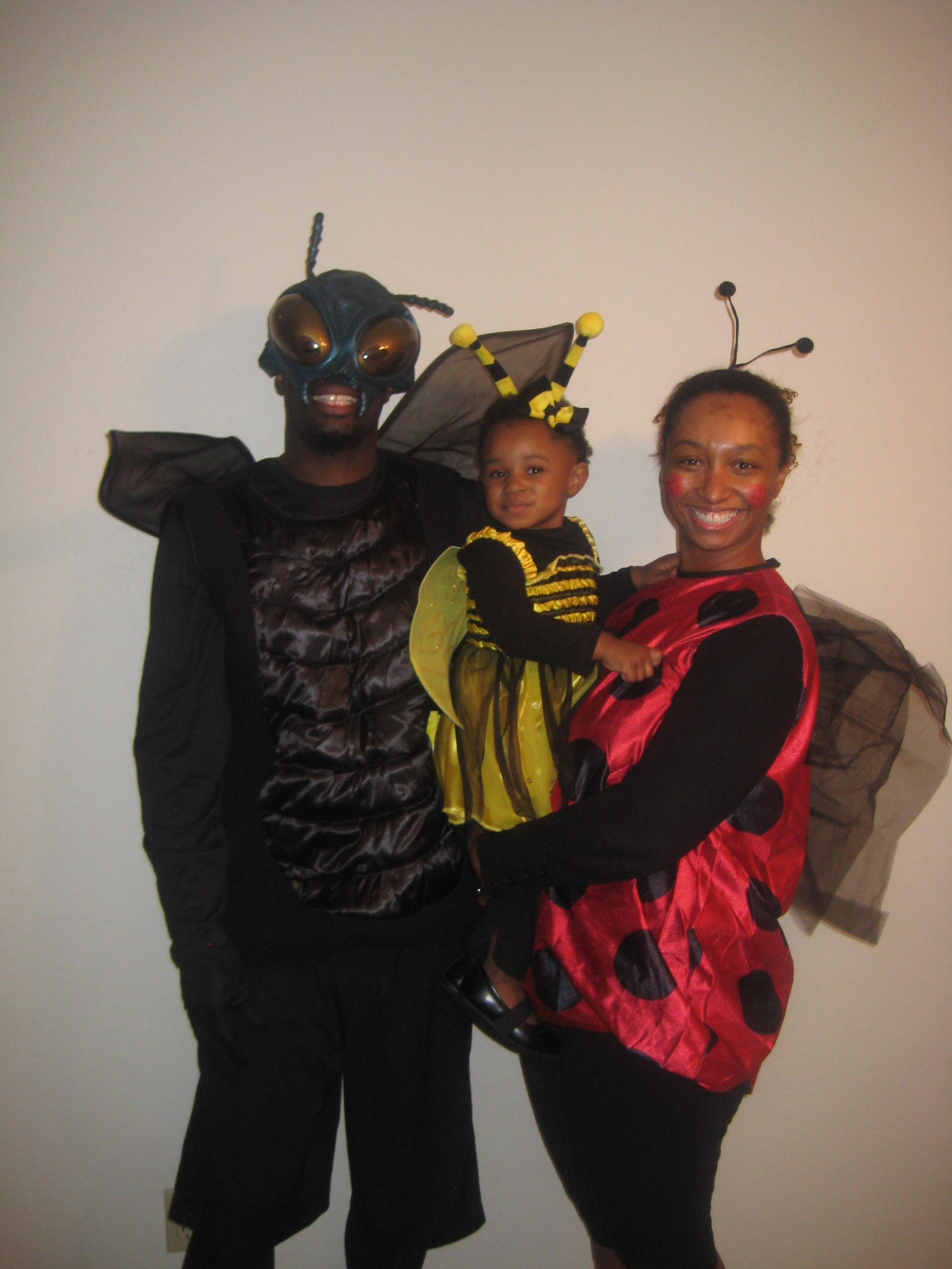 Who knew bugs could be so cute? Wee Gael Tauvia with parents Teohn Conner '03 and Lyone Conner '04