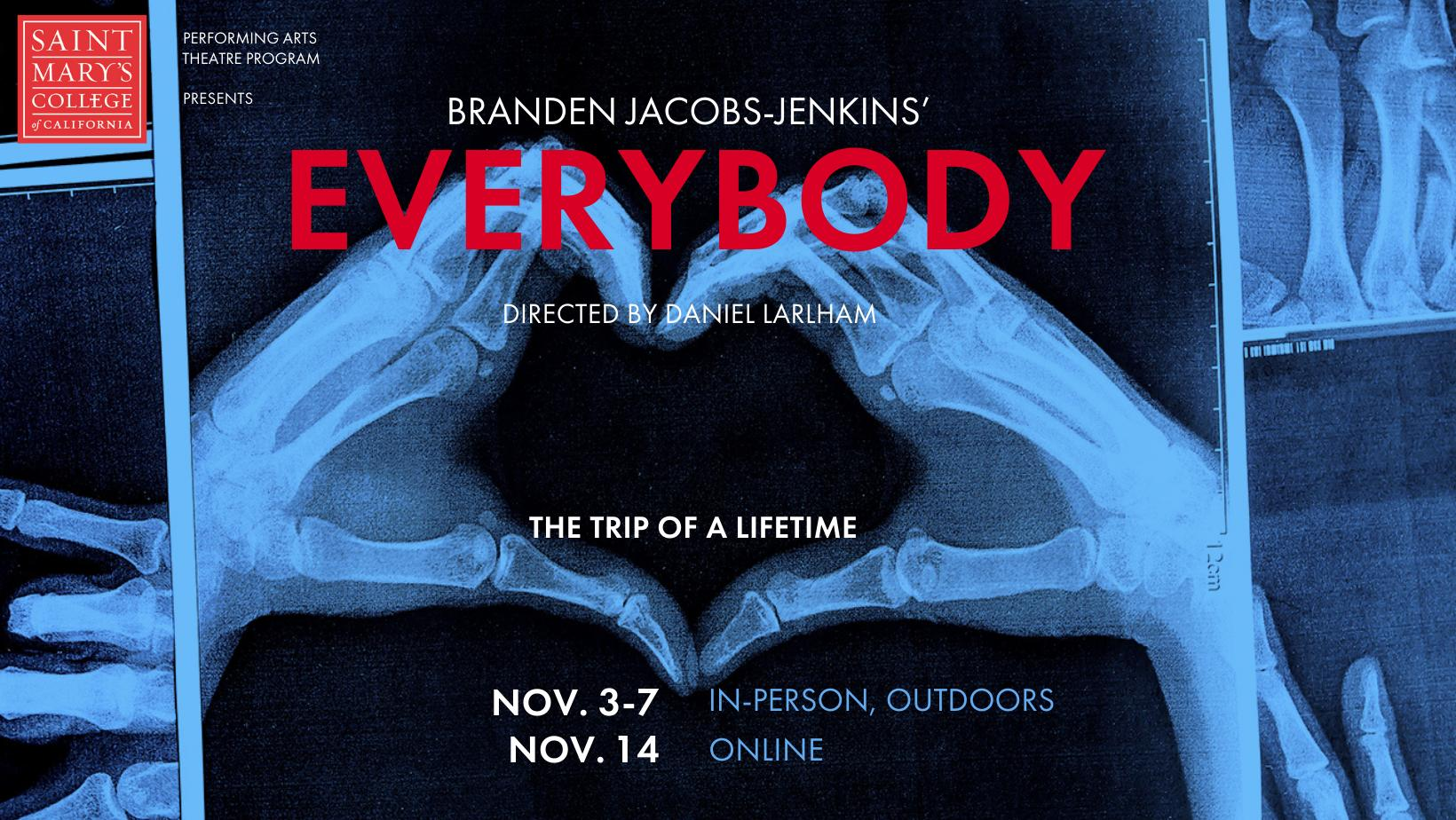 """Header for """"Everybody"""" theatre production"""