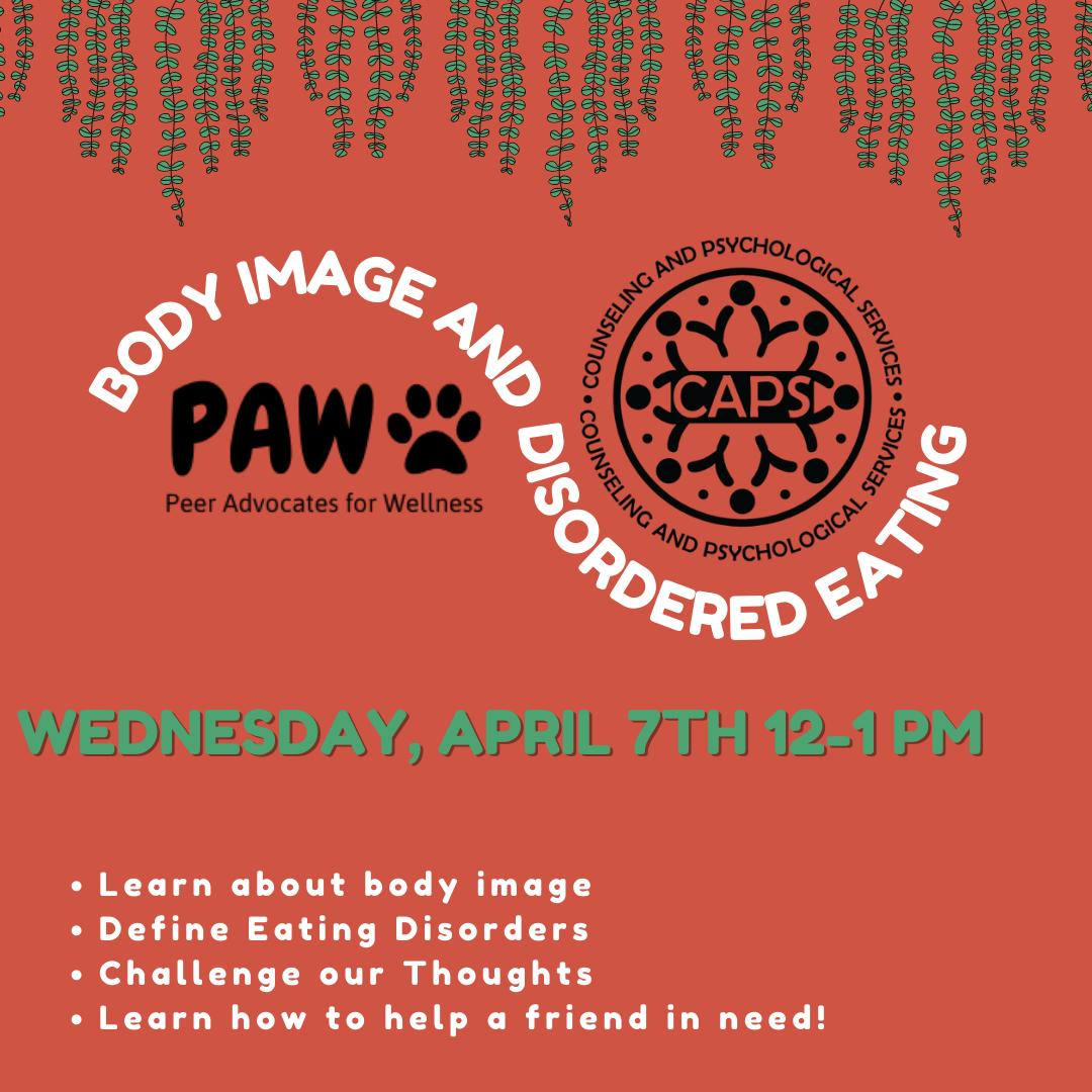 PAW Body Image and Disordered Eating