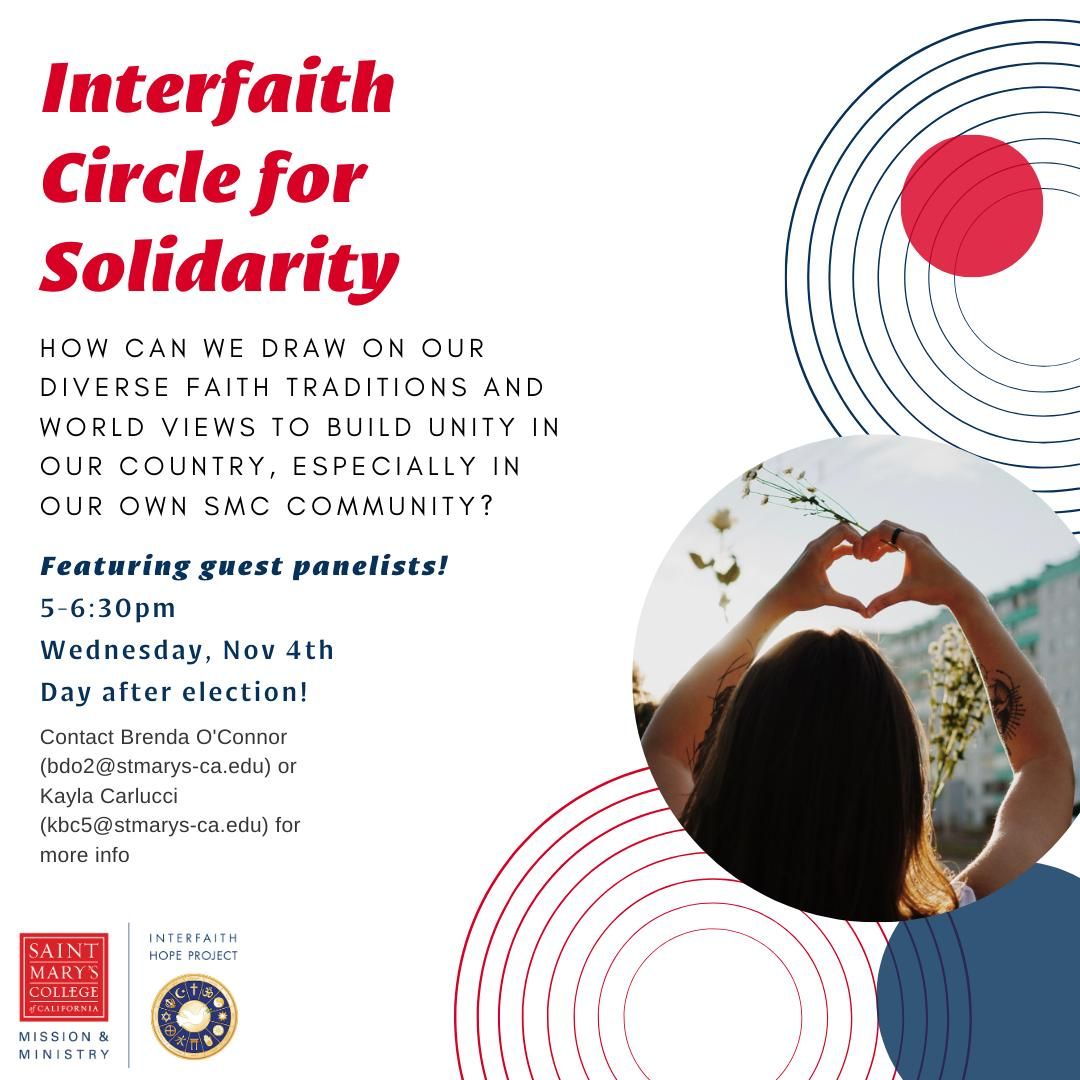 Interfaith Circle for Solidarity: Who Are We Being Called To Be thumbnail