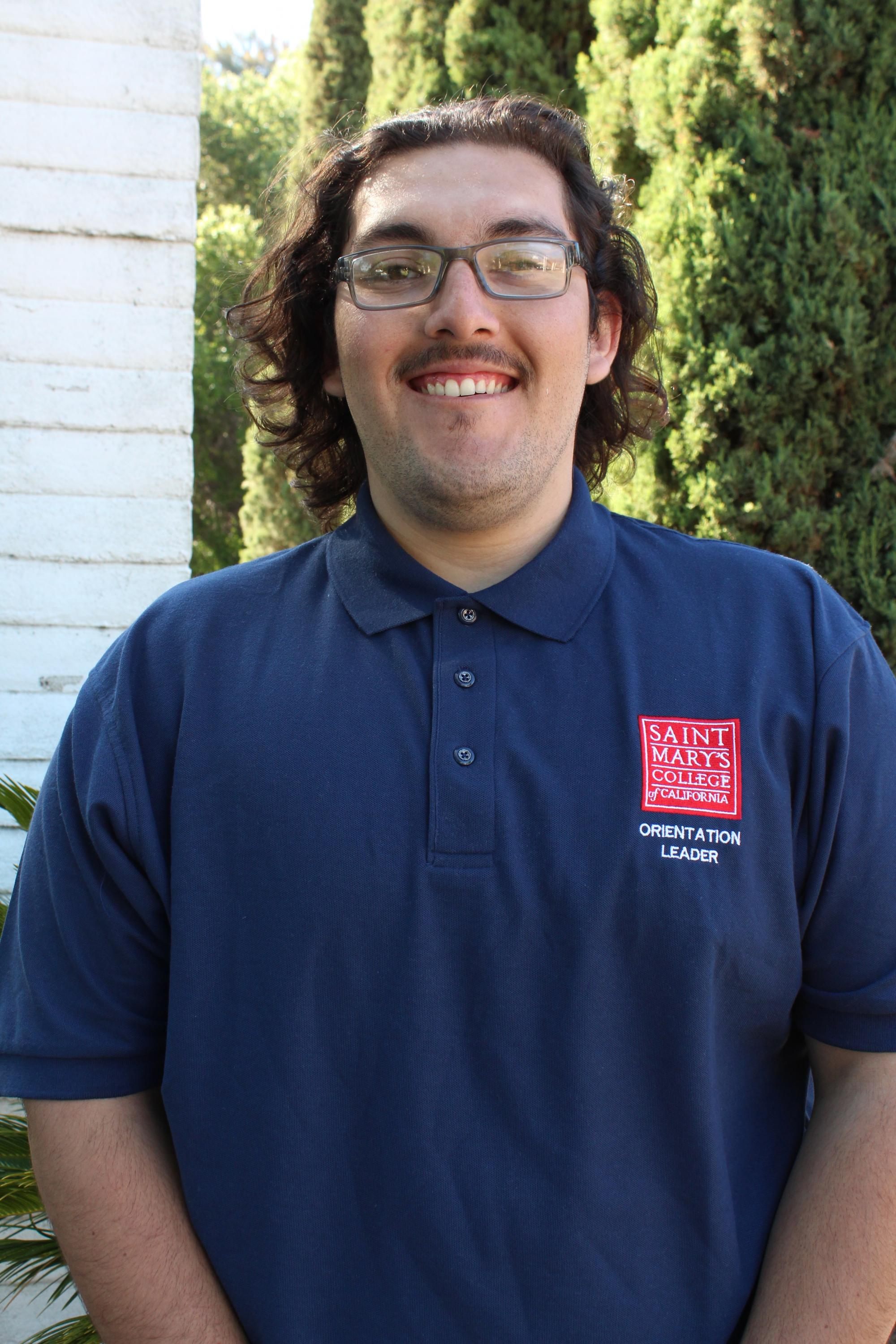 Good Day Gael Nation. My name is Moises Gonzalez and I am a History Major from the great city of Bakersfield, California. I am a singer in all three choirs at SMC, as well as, the co-president of Men's Club Baseball. I am absolutely pumped to meet all of y'all!