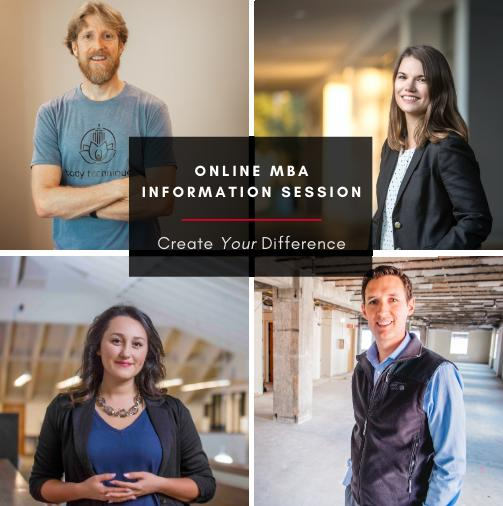 Online MBA Information Sessions - Bay Area Online MBA