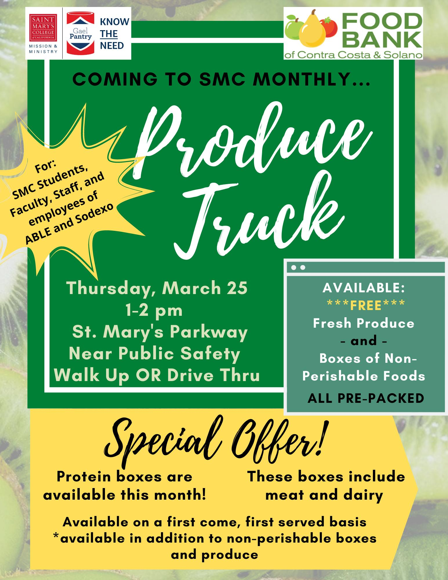 March Produce Truck
