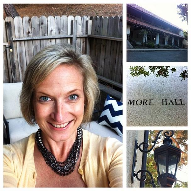"""""""I'm so looking forward to another year as Resident Director in More!"""" --Jen Herzog, R.D., More Hall"""