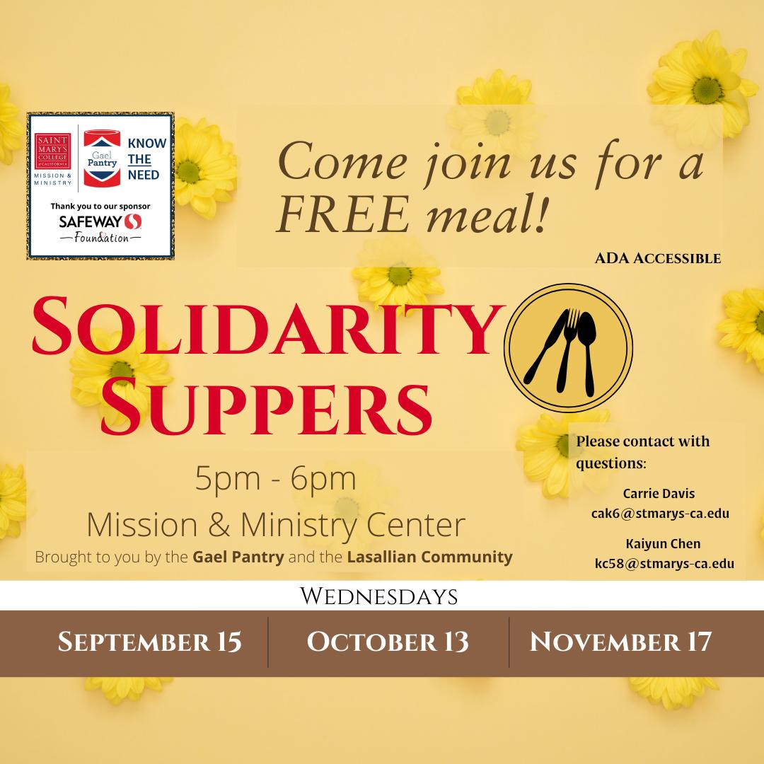 Solidarity Supper 2021 square image