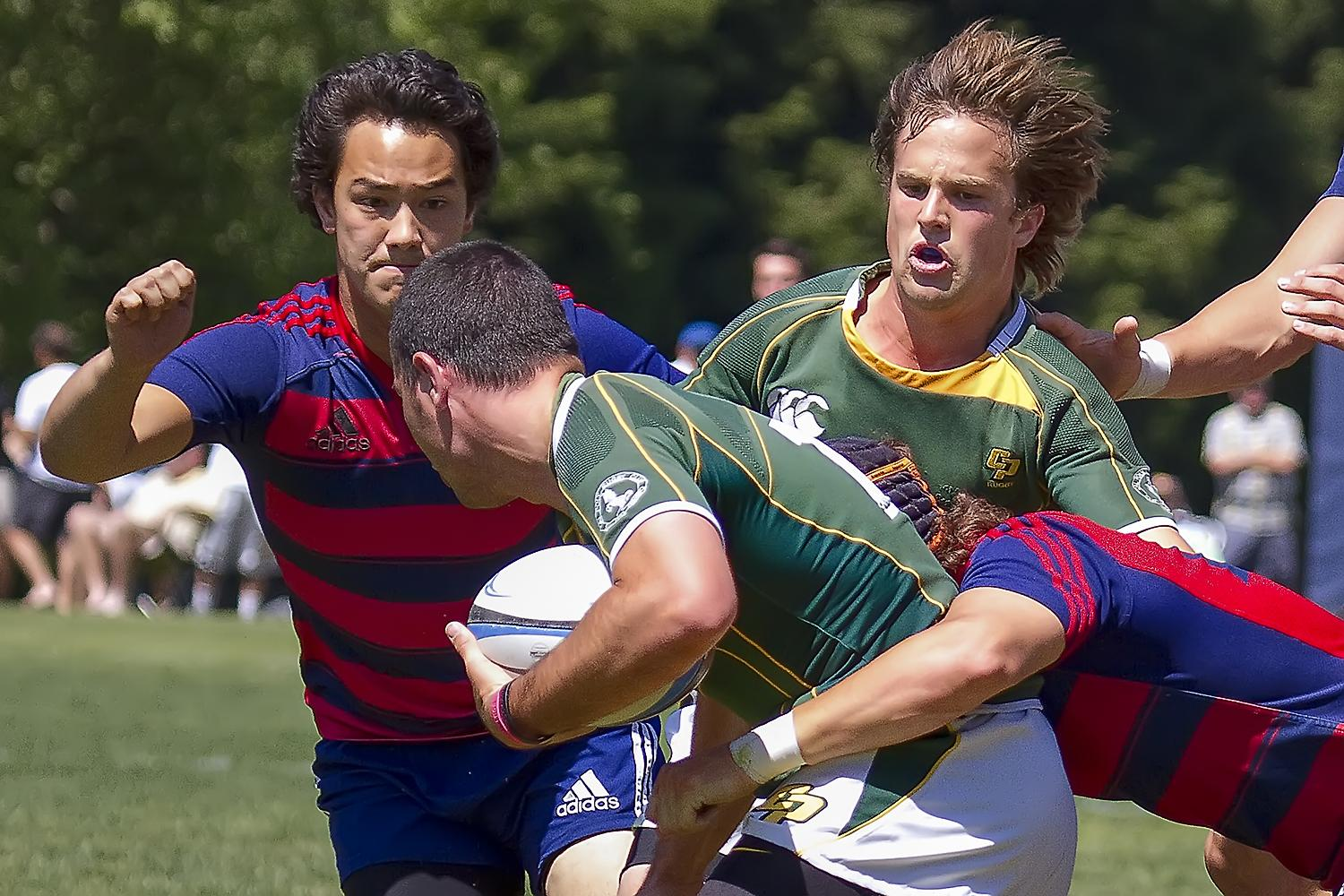 5/4/13 USA Rugby D1-A Semifinal: Cal Poly SLO @ St. Mary's College (CA)