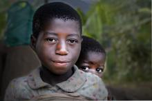 batwa children