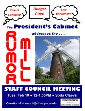 Come to the next meeting...