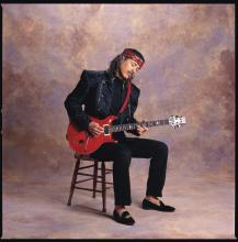 """Carlos Santana and Collopy were friends from childhood, and he has photographed the musician throughout his life. In his book, he includes this quote from Santana: """"The most valuable possession you can own is an open heart. The most powerful weapon you can be is an instrument of peace."""""""