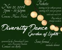 The Diversity Dance is sold out!