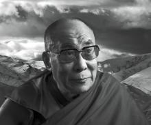 "The Dalai Lama writes in Collopy's ""Architects of Peace"" book that ""love and compassion and a sense of universal responsibility are the sources of peace and happiness."""
