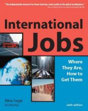 Cover image of International Jobs: Where They Are, How to Get Them