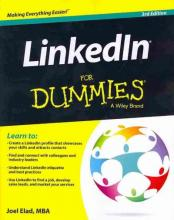 Cover of LinkedIn for Dummies