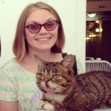 Kathleen Esling (and Lil BUB)