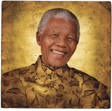 South African anti-apartheid crusader Nelson Mandela told Collopy that he learned in prison to forgive his enemies.