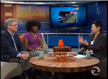 CILSA Director Marshall Welch and Saint Mary's senior Treasha Weatherspoon were guests on Bay Area People, KTVU's weekly public affairs show