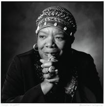 Maya Angelou became a close friend of Collopy's family and has mentored one of his sons who is an aspiring writer.